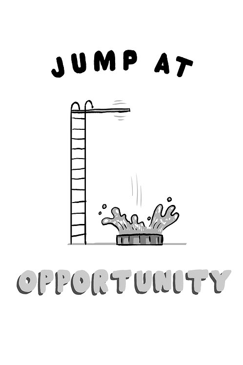 Jump at Opportunity