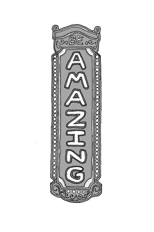 Be Amazing