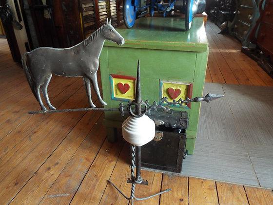 4401 Paratonnerre cheval en cuivre