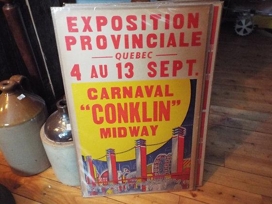 6353 Affiche exposition