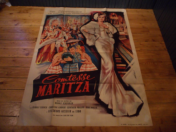 6041 Affiche film Contesse Maritza