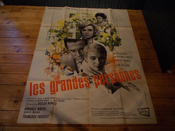 6026 Affiche original film Les grandes personnes