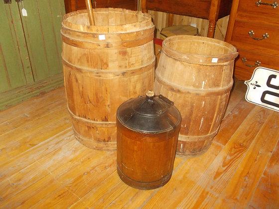 4274 baril en bois