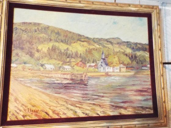 6354 Tableau st-joseph de la rive charlevoix