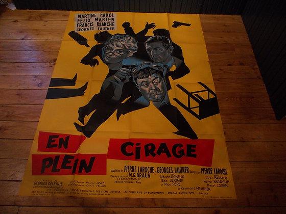 6028  Affiche original film En plein Cigare