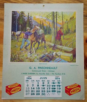 6375 Calendrier G.A. Pinsonneault