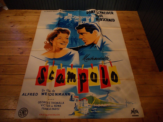 6043 Affiche film Mademoiselle Scampolo