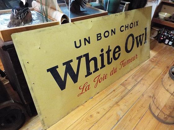 6350 Affiche white owl