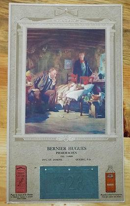 6372 Calendrier Bernier Hugues