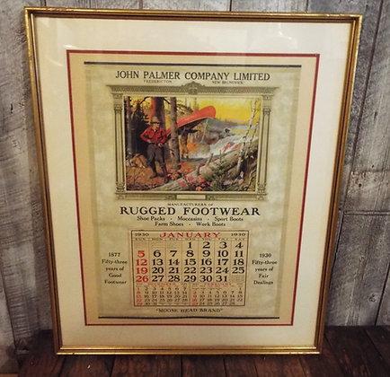 6400 Calendrier 1930 Philip R. Goodwin