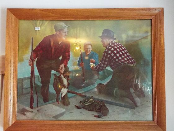 6352 Tableau sportsman original