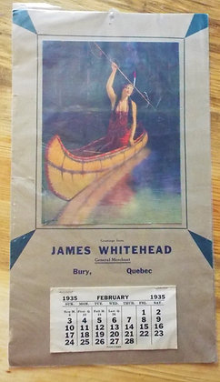 6389 Calendrier James Whitehead