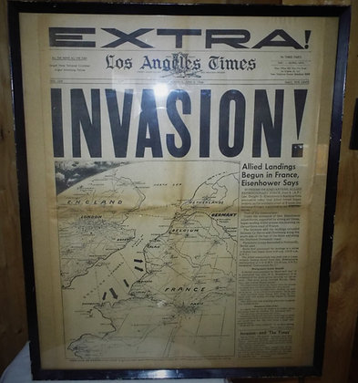 6352 L.A.Times 6 juin 1944