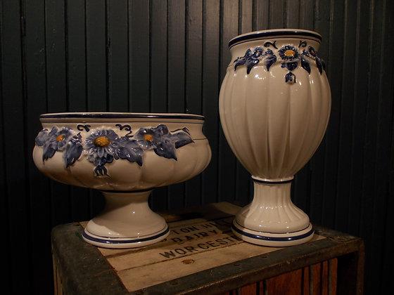 8008 Ensemble bol a fruit et pot a fleur