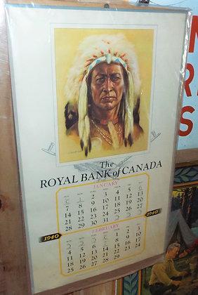 7888 Calendrier Royal Bank of canada
