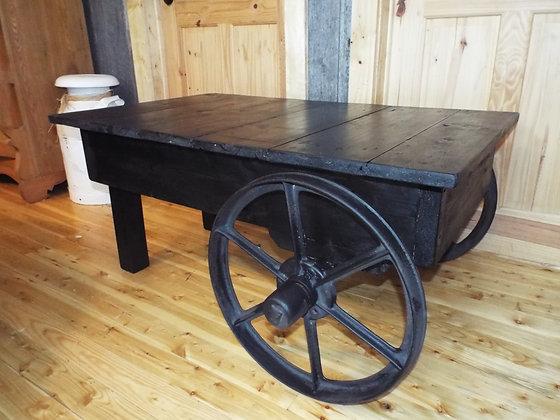 3415 Table de salon industrielle