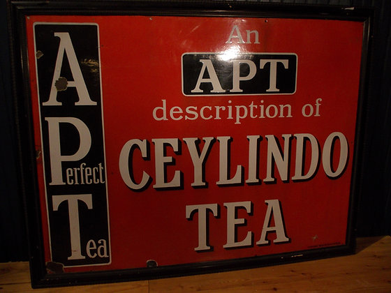 6009   Enseigne CEYLINDO  TEA
