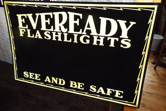 7893 Affiche  carton Eveready