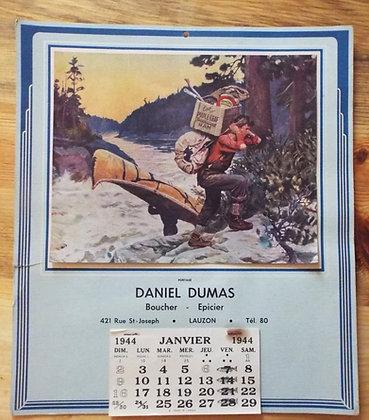 6383 Calendrier Daniel Dumas