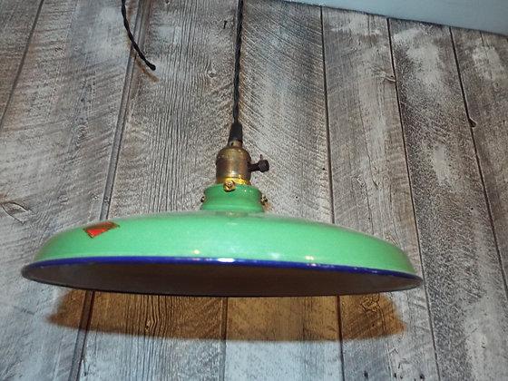 5153 Lampe suspendue en émail