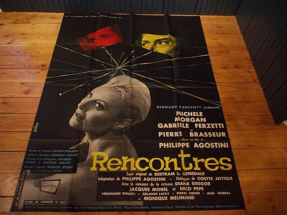 6048  Affiche film Rencontres