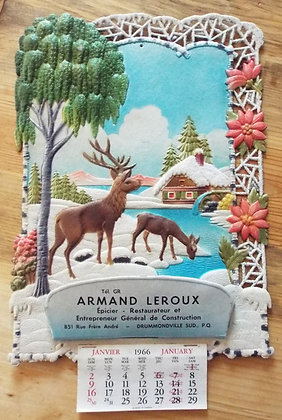 6385  Calendrier Armand Leroux