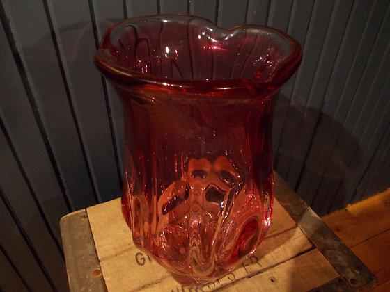 8029   Vase murano en cristal