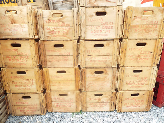 4117 Caisse de pomme