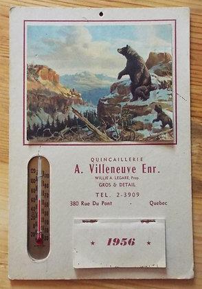 6380 Calendrier A.Villeneuve