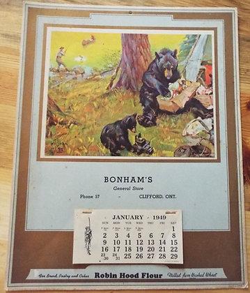 6377 Calendrier Bonham's