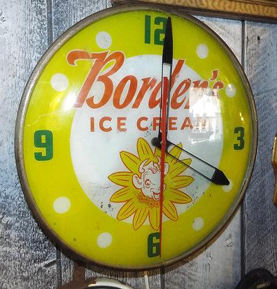7057 Horloge ice cream Borden's