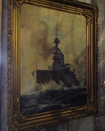 6361 Tableau navire de guerre
