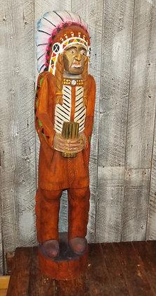 4729 Sculpture indien sur bois