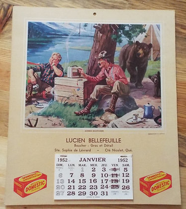 6386 Calendrier Lucien Bellefeuille