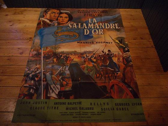 6045 Affiche film Le Salamandre D'or