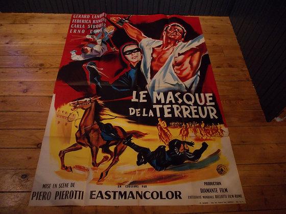 6044 Affiche film Le masque de la terreur