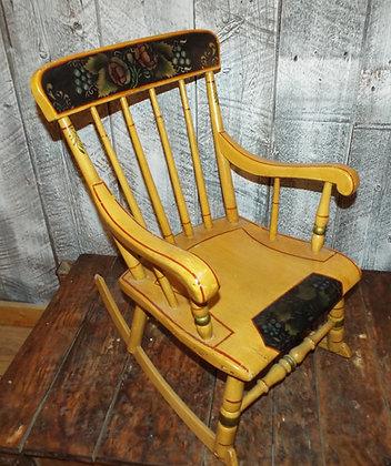 3704 Chaise berçante enfant