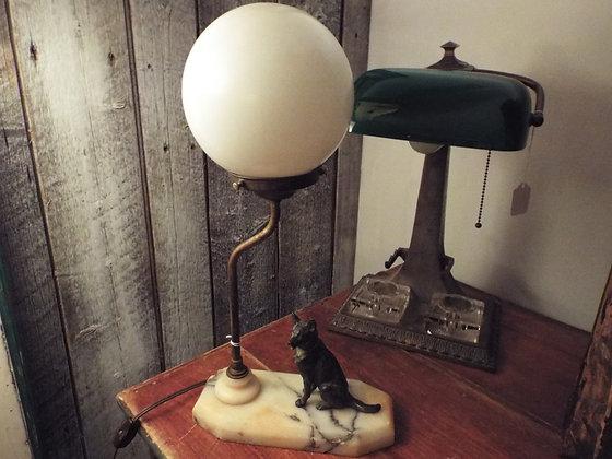 5111 Lampe berger allemand en marbre
