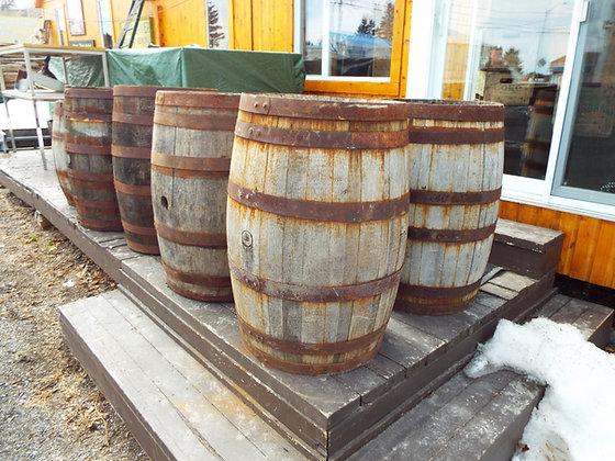4116 Baril de bois gros et petit