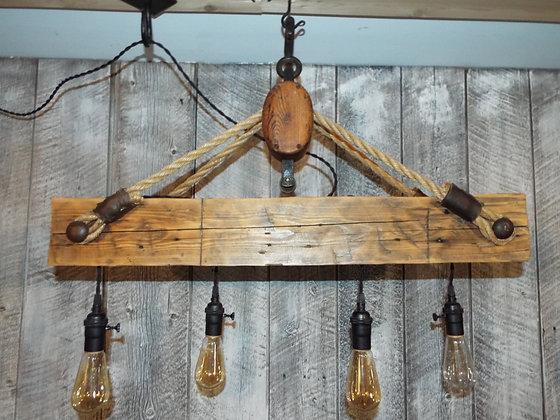 5169  Luminaire rustique