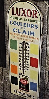 7058 Magnifique thermomètre Luxor