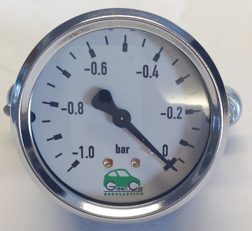 Mobile Drainer Manometer Gauge 63mm