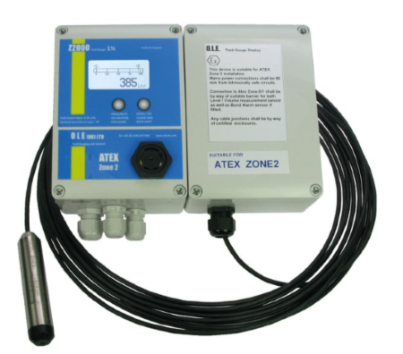 GCZ2000 Tank Gauge -  ATEX Certified