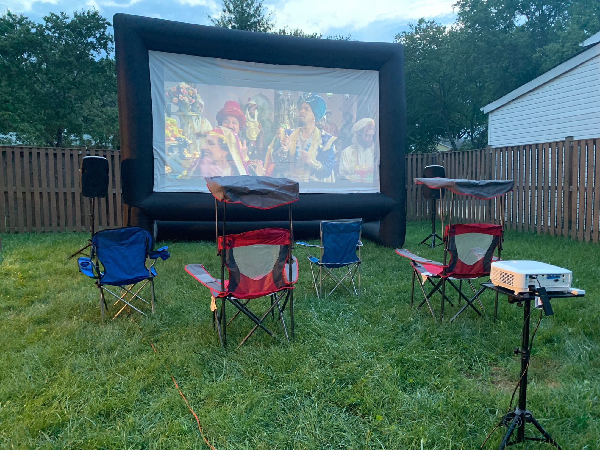 Backyard Movie Package-Single Feature
