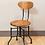 Thumbnail: Chaise d'atelier en chêne