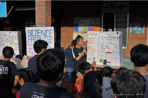 OCIP Vietnam science fair presentations
