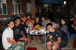 ocip vietnam eating together