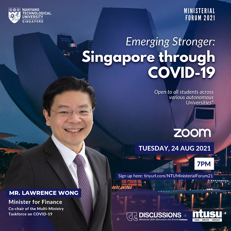 Ministerial Forum 2021 – Emerging Stronger: Singapore through Covid-19