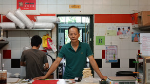 Humans Of NTU #2: Canteen 9 Mala Uncle Mr Ong