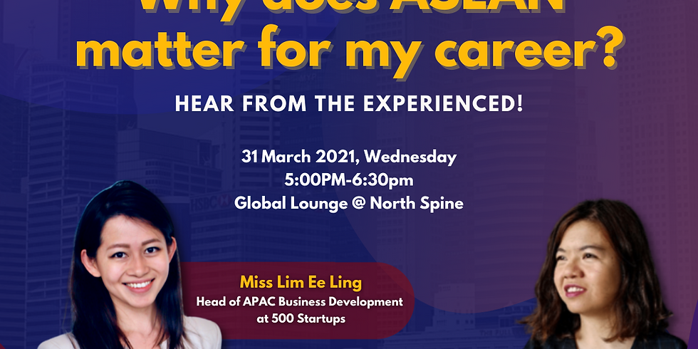 Fireside Chat: What is it like to have a career in ASEAN?
